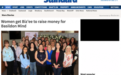 Biz'ee Women Raise Money for Basildon Mind